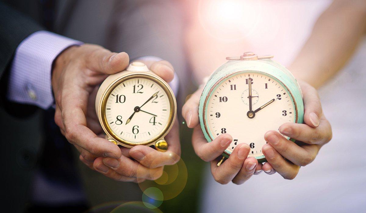 quando sposarsi, sposi con orologi